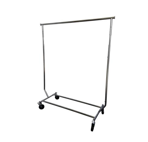 Cheap second hand garment rack for 2nd hand beauty salon equipment