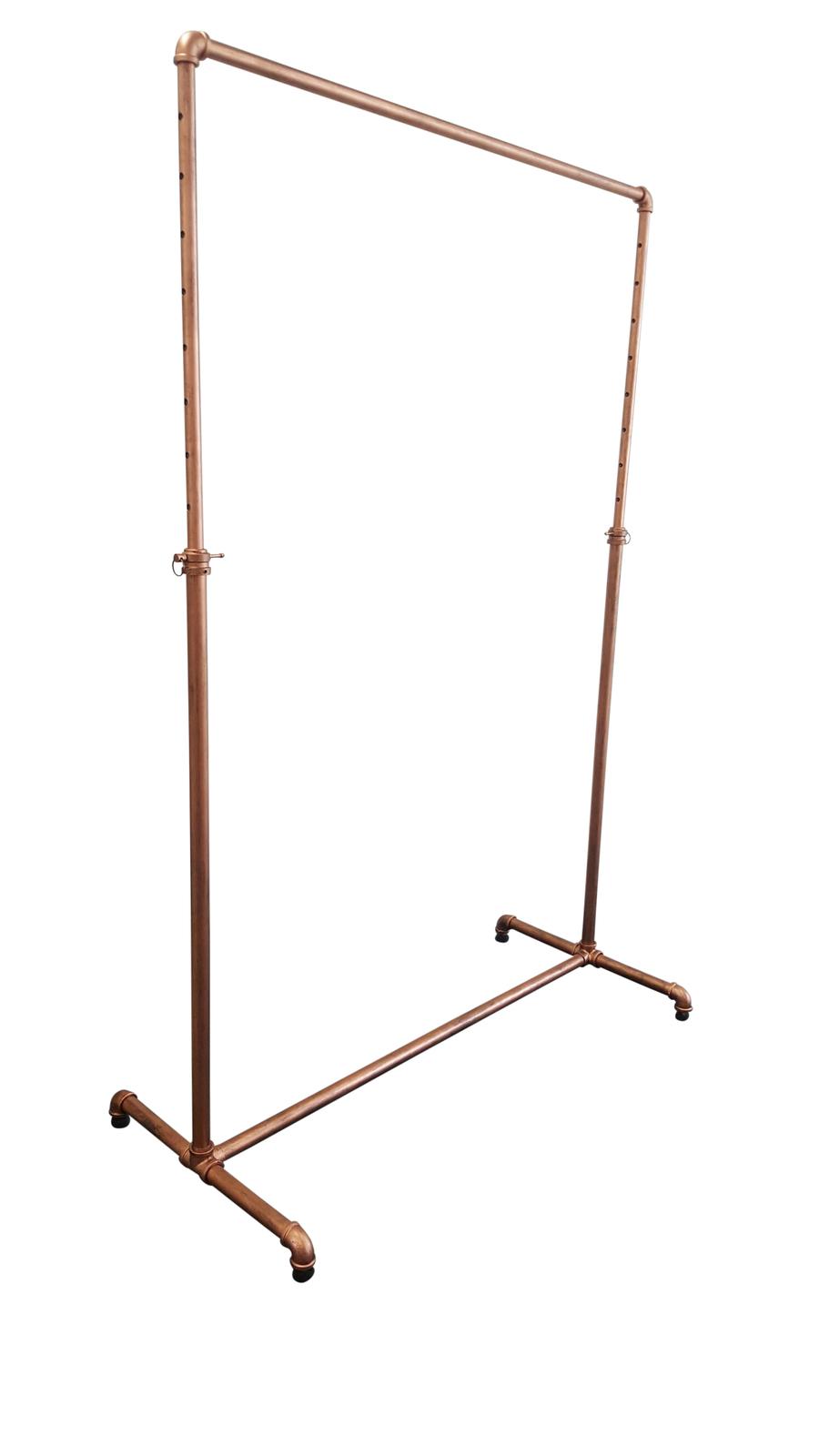 Garment rack on wheels whitmor double rod adjustable for Clothes rail on wheels ikea