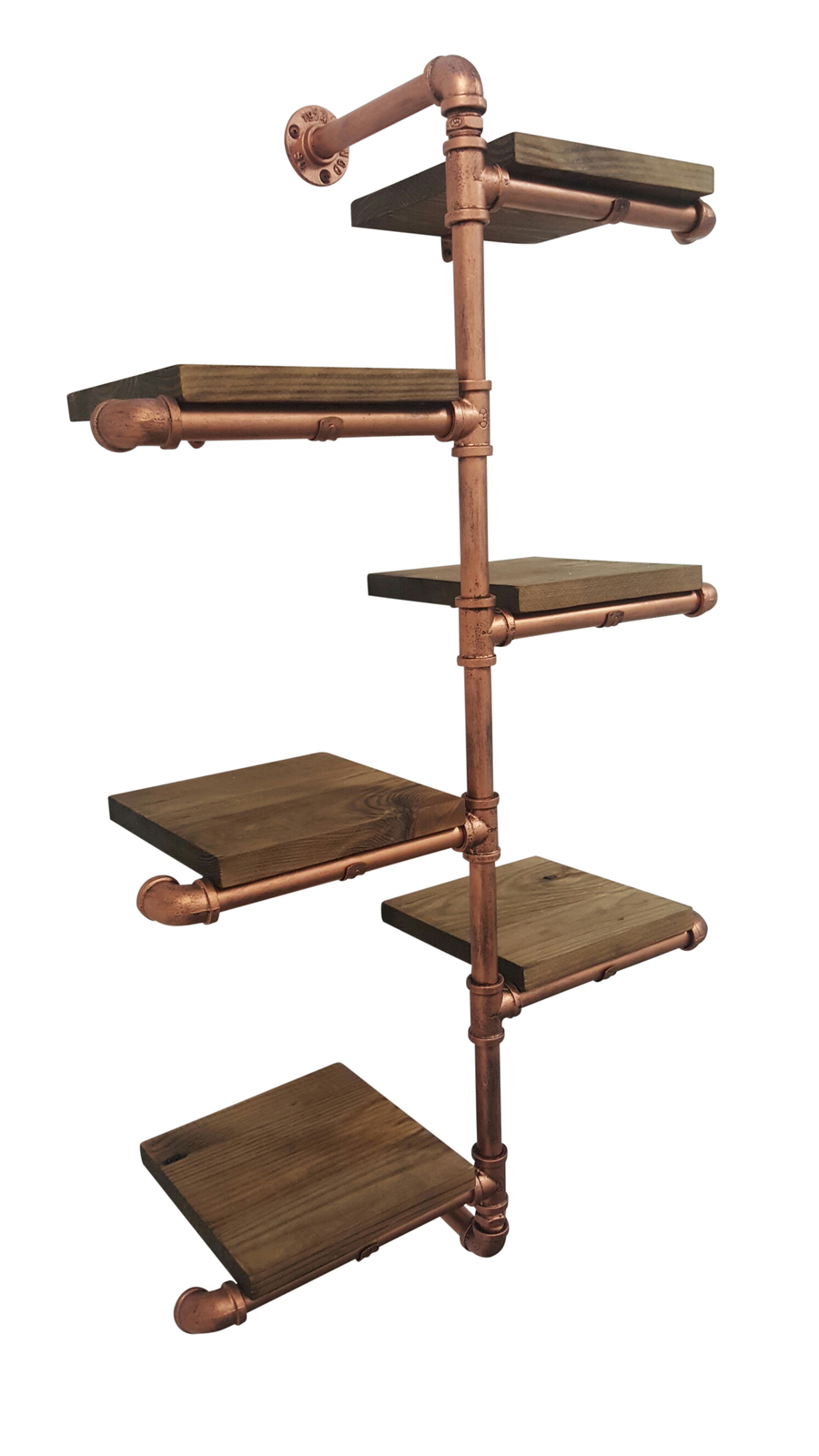 Pipe Rack Shelving Unit Wall Mounted Rax And Dollies