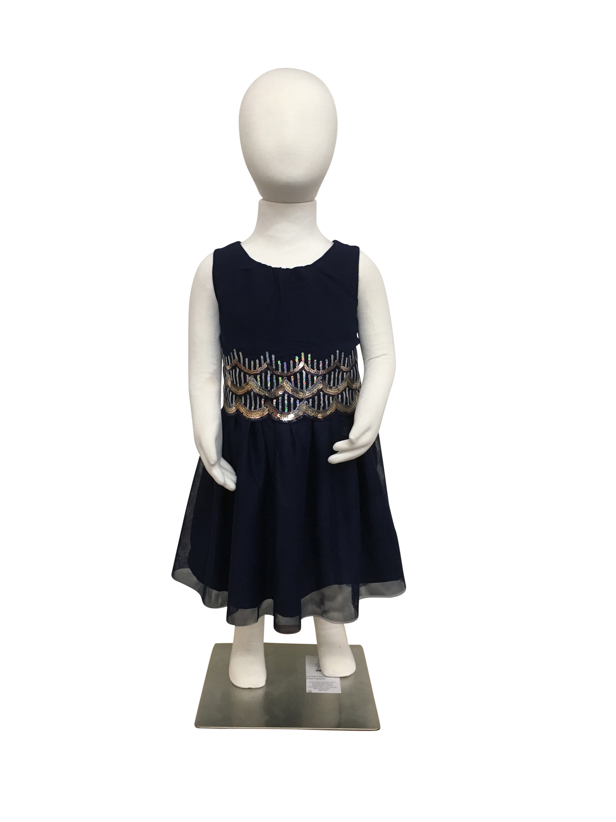 Medium Child Flexible Mannequin Full Body Standing With