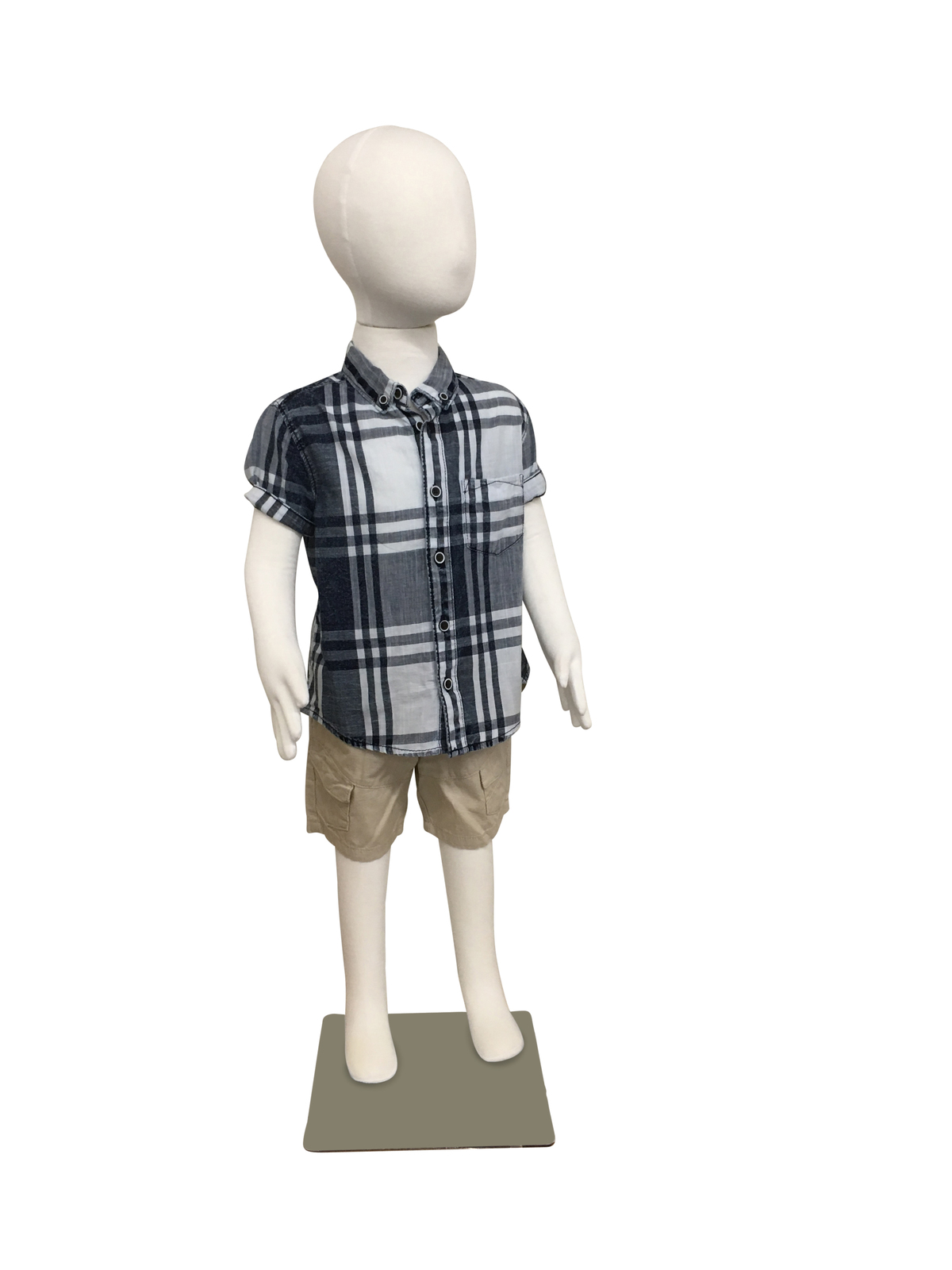 Ihram Kids For Sale Dubai: Large Child Flexible Mannequin Full Body Standing With